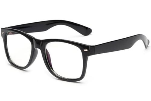 classic blueblock bril zijkant