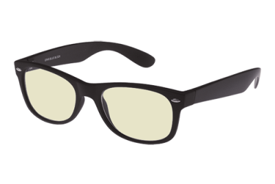 Blueblock bril zonder sterkte zwart