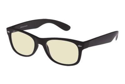 Zwarte blueblock bril