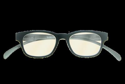 Blueblock bril Zwart op sterkte voorkant