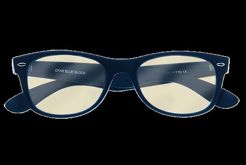 Blueblock bril zonder sterkte in donkerblauw