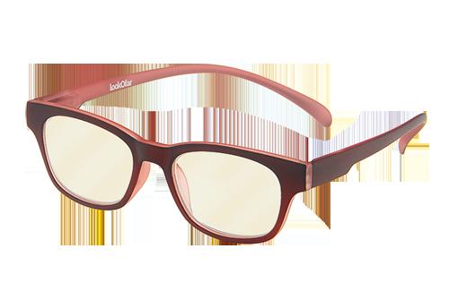 Blueblock computerbril Rood op sterkte