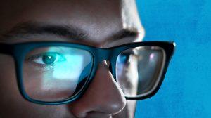 computerbril blauwlichtfilterbril beeldschermbril