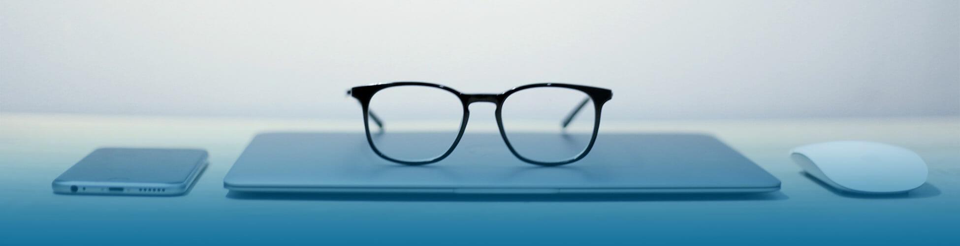 computerbrillen met blueblockfilter